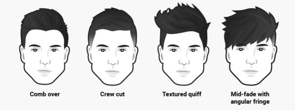 24 Fesyen Rambut Lelaki Mengikut Bentuk Wajah Kalau Buntu Boleh Pilih Idea Ini Maskulin