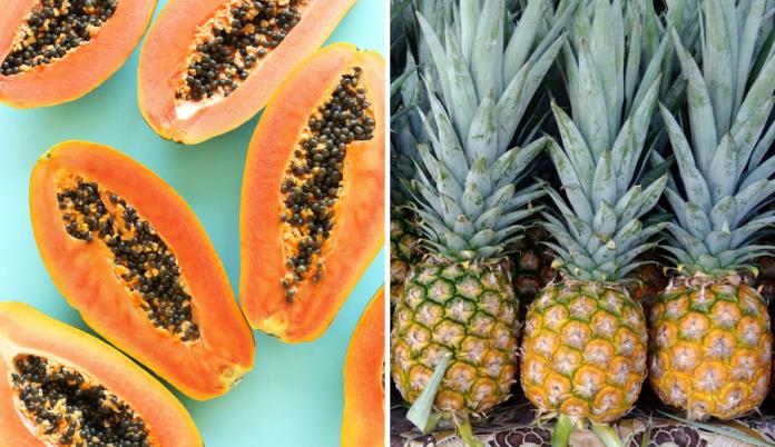 Ruginya Kalau Tak Makan Betik & Nenas, Sebab Ia Antara Sumber Baik Untuk Atasi Masalah Gout!