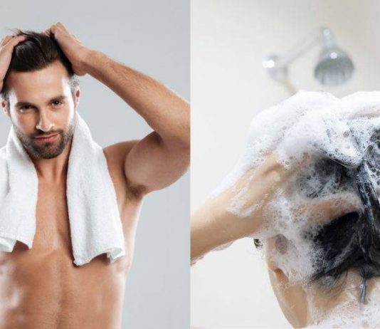 step cuci rambut