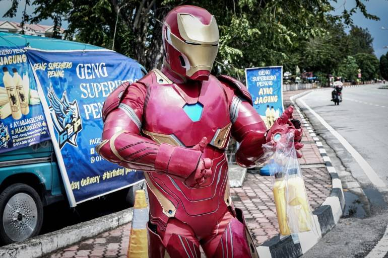 IRONMAN JUAL AIR JAGUNG