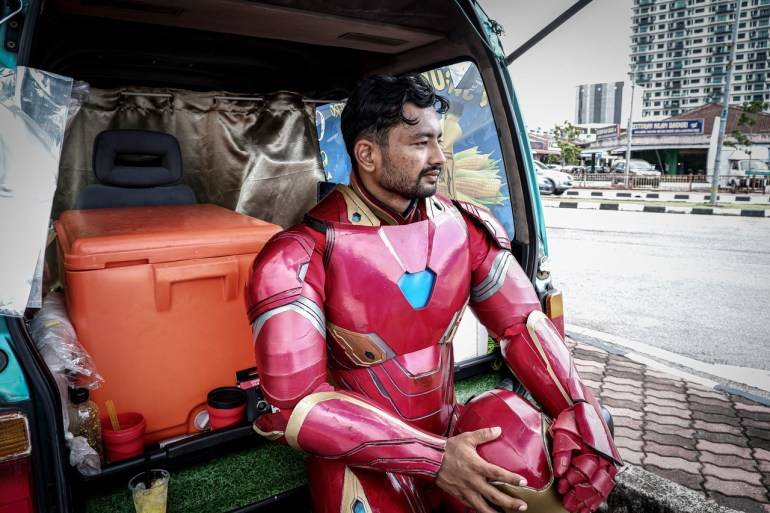 IRON MAN AIR JAGUNG