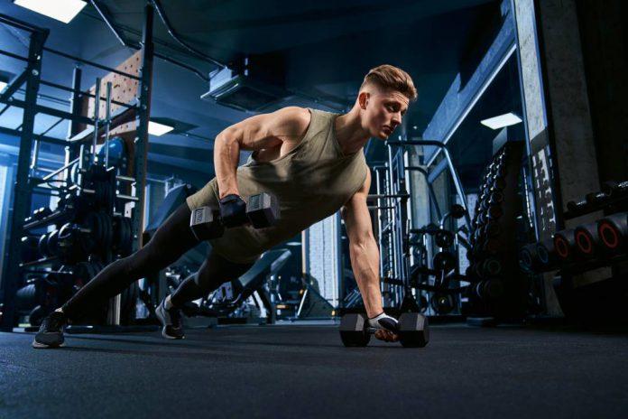 senaman lat bantuan workout