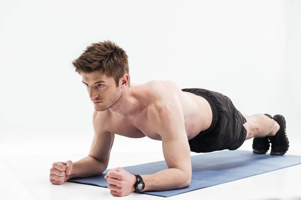 plank silap badan