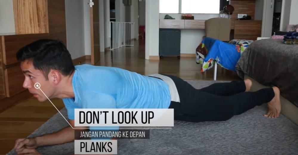 Kesalahan Yang Sering Orang Buat Ketika Senaman Plank