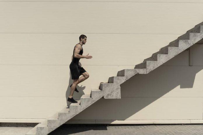 naik tangga turun flat