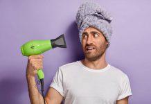 rambut cuci tabiat