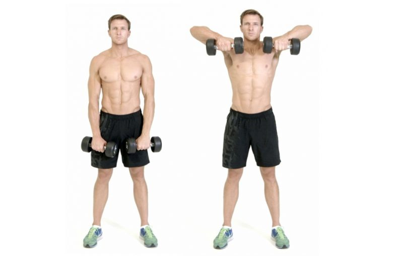Image result for dumbbell upright row