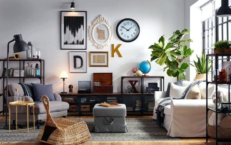 8 Idea Cilok Dekorasi Di Ikea Sesuai Sangat Buat Lelaki Bujang Rumah Apartment Maskulin