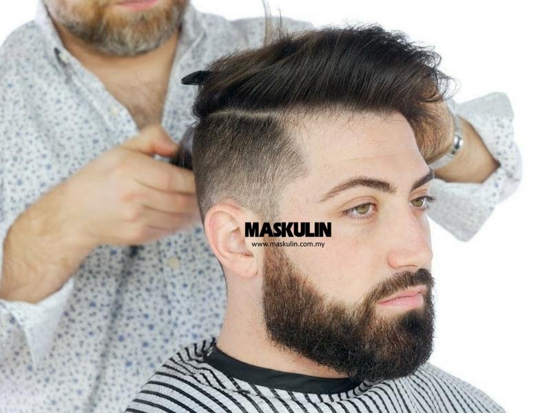 6 Trend Rambut Yang Sesuai Mengikut Bentuk Muka Jangan Main Terjah Je Barber Shop Tu Maskulin